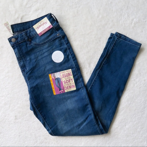 140429656737ef Faded Glory Jeans | Mid Rise Stretchy Denim Jeggings | Poshmark